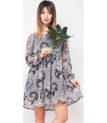 sukienka lulu szara