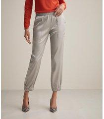 pantalone tasconi raso seta