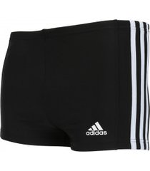 sunga boxer adidas infinitex ec3s bx - adulto - preto/branco