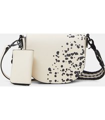 arty crossbody bag - white - u