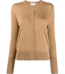 snobby sheep jackie relaxed-fit cardigan - brown