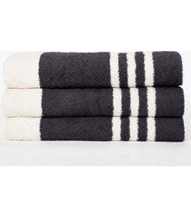 narrow stripe beach towel