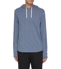 'slub' popover hoodie