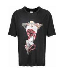alchemist camiseta com estampa gráfica - preto