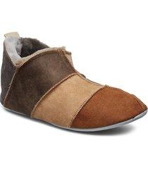 hans slippers tofflor brun shepherd