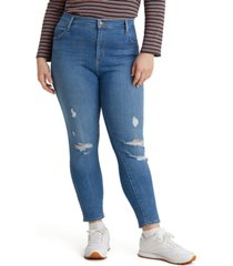 levi's trendy plus size 720 high-rise super-skinny jeans