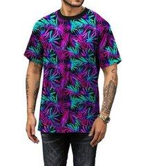 camiseta di nuevo coqueiros neon psy masculina - masculino