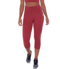 calça corsário sandy fitness athletic vinho