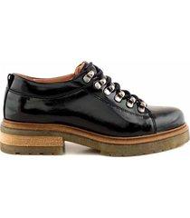 zapato negro briganti mujer robore