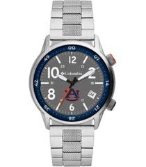 columbia men's outbacker auburn stainless steel bracelet watch 45mm