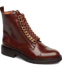 boots shoes boots ankle boots ankle boot - flat brun billi bi