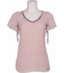 ace dirty pink - pepe jeans - t-shirts - roze