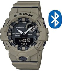 reloj casio gba-800uc-5a anadigi 100% original-gris