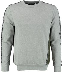 antony morato stevige grijze stretch sweater