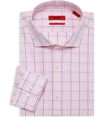 sharp-fit cotton dress shirt
