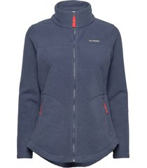 northern reach™ sherpa fz sweat-shirts & hoodies fleeces & midlayers blå columbia