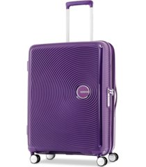 "american tourister curio 20"" carry-on spinner suitcase"