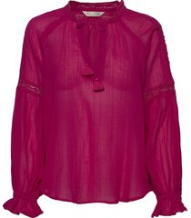 way to go blouse blus långärmad rosa odd molly