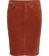 frmacord 2 skirt kort kjol röd fransa