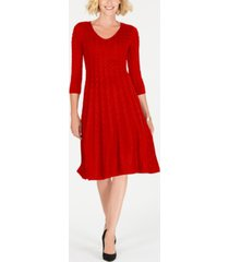 jessica howard cable-knit sweater dress