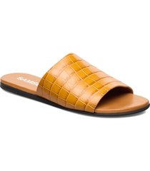 mela sandal 10764 shoes summer shoes flat sandals brun samsøe samsøe