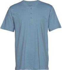 shirt 1/2 pyjamas blå schiesser