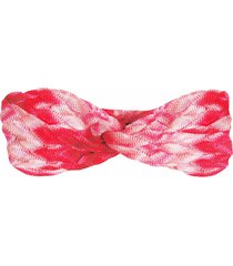 mc2 saint barth woman multicolour knitted headband