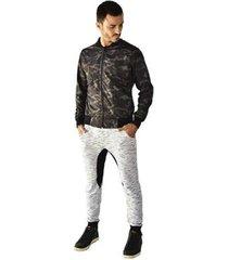 jaqueta corta vento brohood tactel camuflado masculina