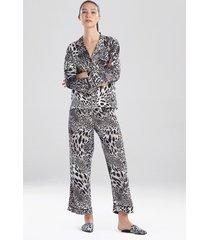 natori jaguar sleep pajamas & loungewear, women's, size xs natori