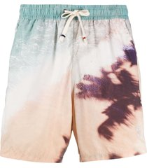 altea photographic-print swim shorts - neutrals