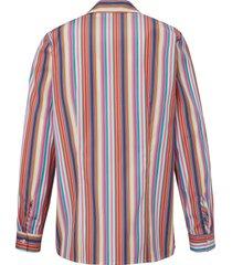 blouse 100% katoen lange mouwen van peter hahn multicolour