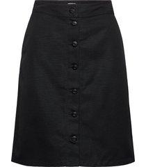 piper skirt knälång kjol svart filippa k