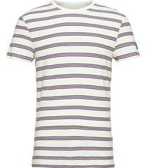 striped piqu t-shirts short-sleeved vit tom tailor