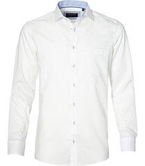 casa moda overhemd - regular fit - wit