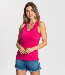 regata cotton bã¡sica feminina rovitex rosa - rosa - feminino - dafiti