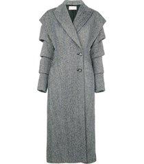 slash sleeve coat