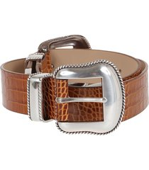 b-low the belt cintura rouge croco