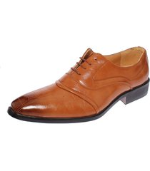 zapato formal kaki casatia