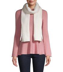 karl lagerfeld paris women's sparkle scarf - black