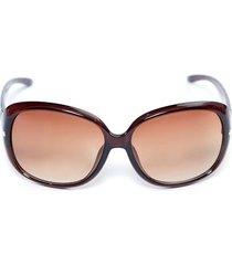 gafas marco detalle color café, talla uni