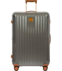 bric's capri 30-inch expandable spinner suitcase - grey