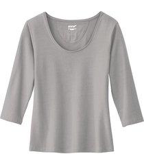 shirt, zilvergrijs 40/42