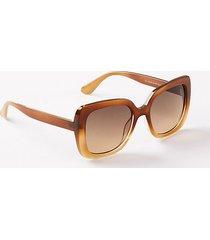 loft ombre square sunglasses