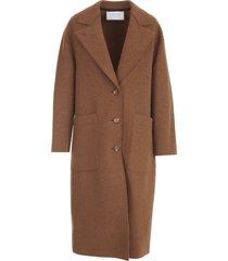 harris wharf london women great coat boiled wool