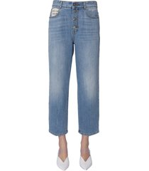 stella mccartney boyfriend fit jeans