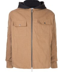 beige worker jacket