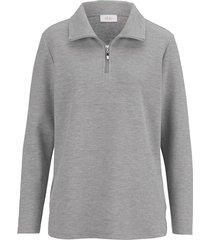 sweatshirt dress in grå
