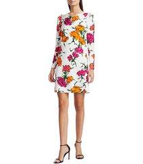 escada women's dleah marigold shift dress - fantasy - size 42 (12)