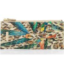 brahmin credit card wallet snow leopard melbourne