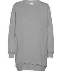 bff sweatshirt sweat-shirt tröja grå boob